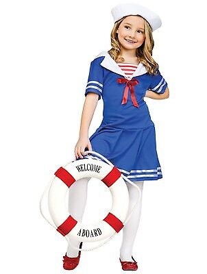 Sea Sweetie Sailor Nautical Navy Child - Sailor Costume