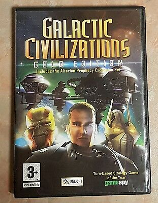 Galactic Civilizations Gold Edition - PC CD-ROM Game