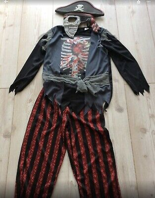 Boys Halloween Costumes Age 11 (Boys Halloween Pirate Scary Mask Costume Age 11/12 Years)