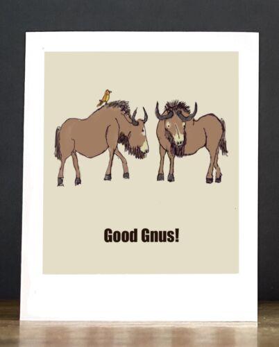 Baby Announcement or Congratulations: Good Gnus