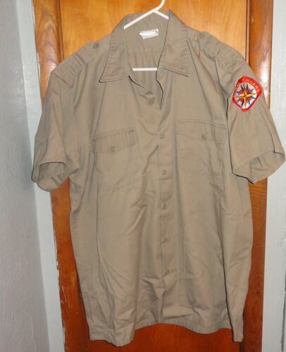 Royal Rangers UNIFORM Shirt Short Sleeve size 17.5 - GOSPEL Publishing House USA