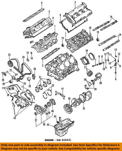 MITSUBISHI OEM 91-99 3000GT-Engine Cylinder Head Gasket MD199239 | eBay