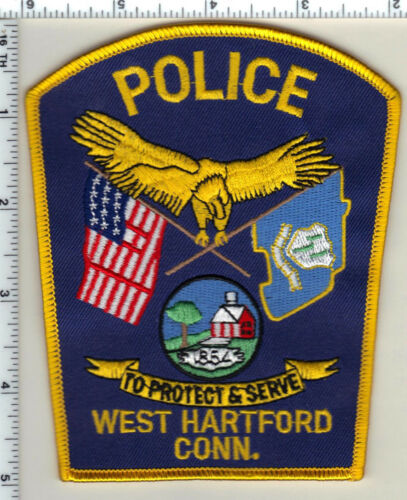 West Hartford Police (Connecticut) Shoulder Patch - new from 1995
