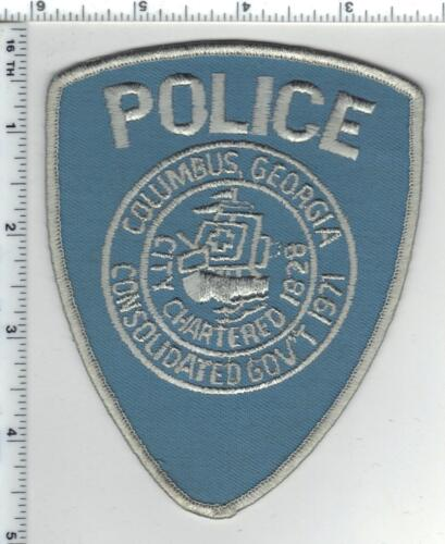 Columbus Police (Georgia)  3rd Issue White Border Shoulder Patch