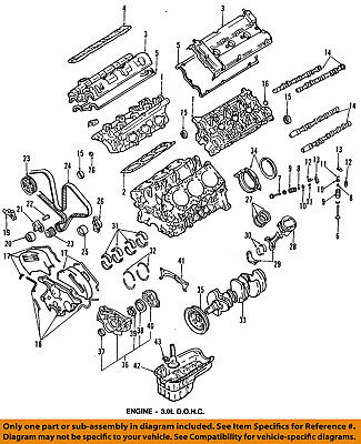 Dodge CHRYSLER OEM 93-96 Stealth-Engine Timing Cover MD190981