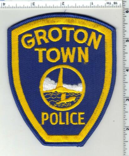 Groton Town Police (Connecticut) 3rd Issue Shoulder Patch