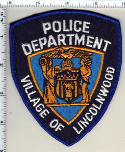 Lincoln Police (Nebraska) Uniform Take-Off Shoulder Patch from 1989