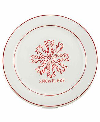 4 Copos de Nieve Home Essentials Molly Cerrojo Plato de Postre 8.5...