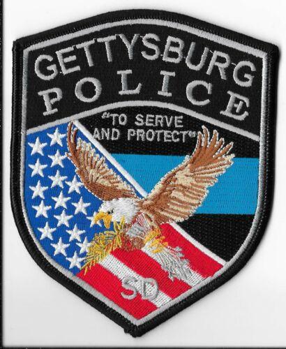 Gettysburg Police Department, South Dakota Shoulder Patch