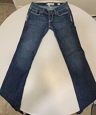 Womens BKE Denim Stella Slim Boot Cut Dark Wash Jeans Size 28L 28x33.5 Dark Denim Boot-cut Jeans