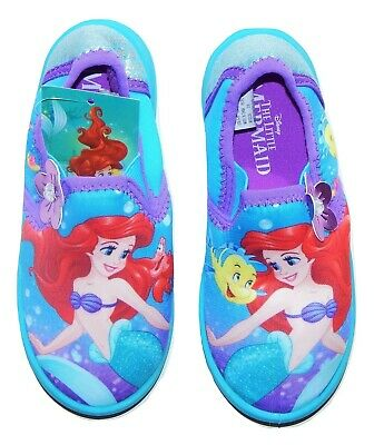 LITTLE MERMAID ARIEL Swim Shoes Water Aqua Socks NWT Sz. 5-6, 7-8, 9-10 or 11-12