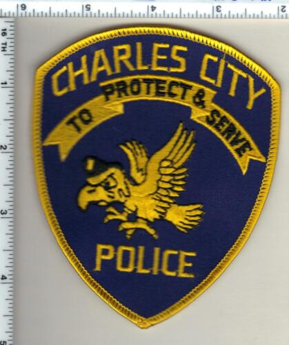 Charles City Police (Iowa)  Shoulder Patch - new from 1993