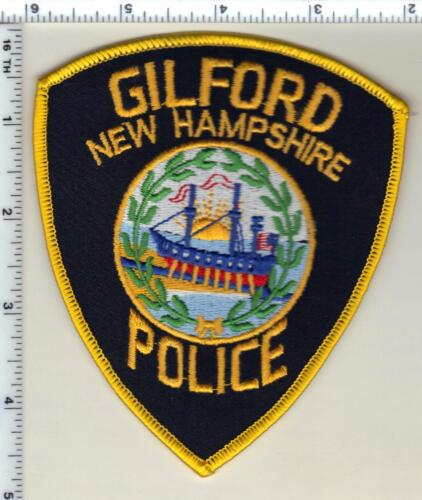 Gilford Police (New Hampshire)  Shoulder Patch  - new from 1992