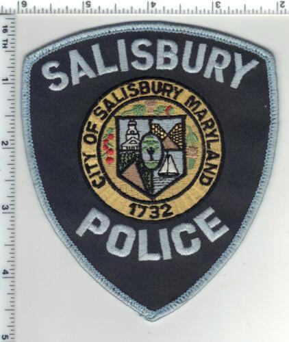 Salisbury Police (Maryland) uniform take-off shoulder patch 1980