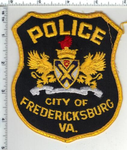 City of Fredericksburg Police (Virginia) 1st Issue Uniform Take-Off Patch