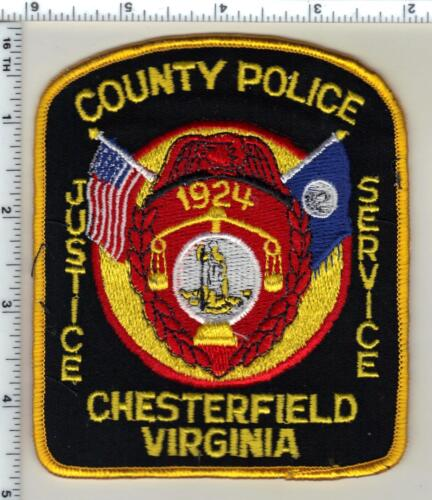 Chesterfield County Police (Virginia) 3rd Issue Shoulder Patch