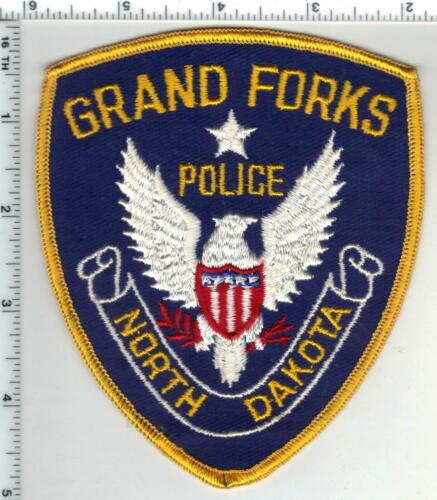 Grand Forks Police (North Dakota) 4th Issue Shoulder Patch