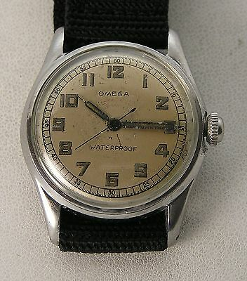 MiAwesome WWII Omega Military Watch Stainless Steel 17.8 SC 17J Inner Dust cover