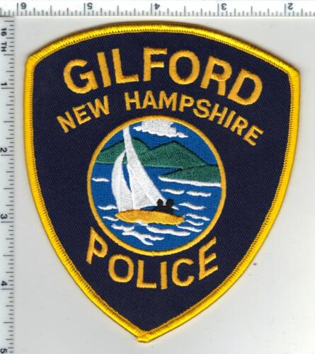 Gilford Police (New Hampshire)  Shoulder Patch  - new from the 1980