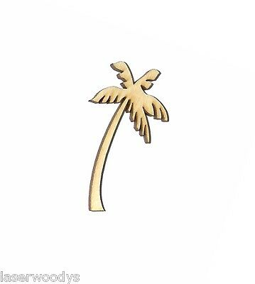 Tropical Palm Tree Unfinished Wood Shape Cut Out TPT95 Crafts Lindahl Woodcrafts](Palm Tree Cut Outs)