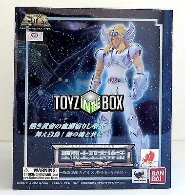 "In STOCK Saint Seiya Myth Bronze Cloth V2 EX ""Cygnus Hyoga"" Action Figure Bandai"