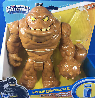 Imaginext OOZING CLAYFACE **INCOMPLETE (Missing Robin Figure)**