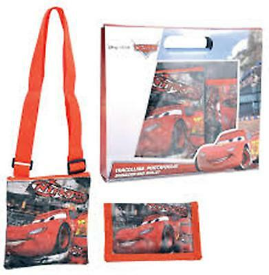DISNEY - CARS - Shoulder Bag & Wallet Gift Set for boys