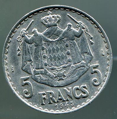 Monaco - 5 Francs - 1945 / #0324