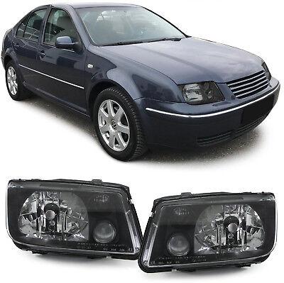 Klarglas Scheinwerfer schwarz DEPO für VW Bora 98-05 online kaufen