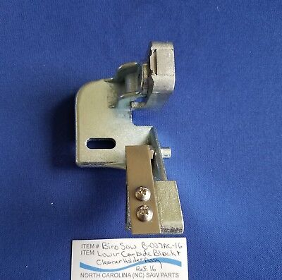 Lower Carbide Block Cleaner Holder Assy For Biro Saw 34 44 3334 3334fh 4436