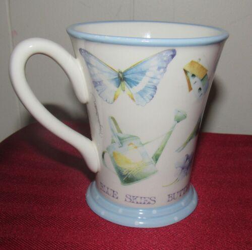 Marjolein Bastin Blue Skies Butterflies Tender Blue Flowers Mug