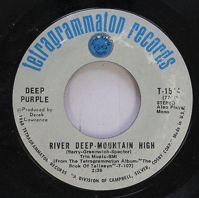 - Rock 45 Deep Purple - River Deep-Mountain High / Listen, Learn, Read On On Tetra