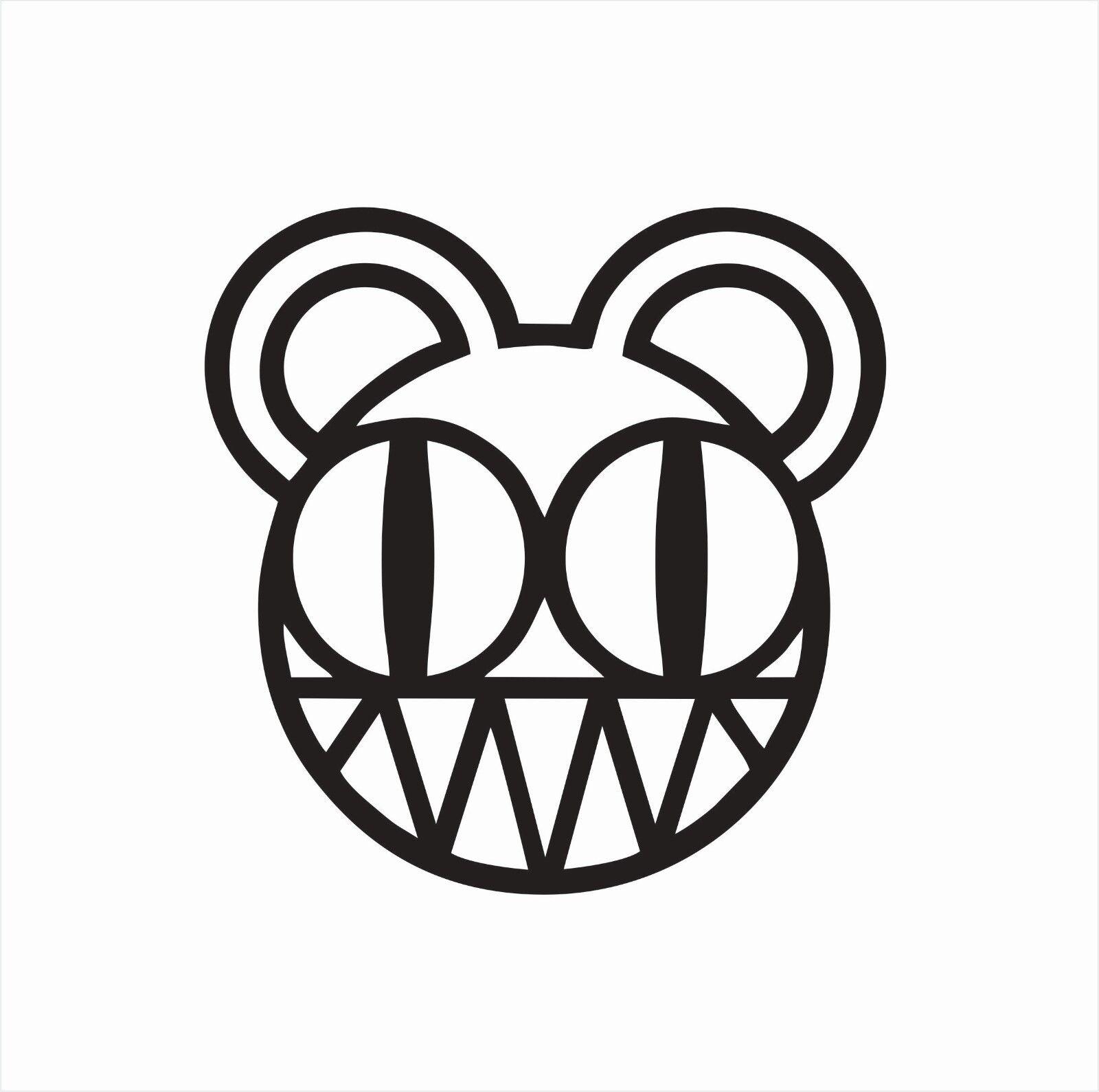 Radiohead Music Band Vinyl Die Cut Car Decal Sticker-FREE SH