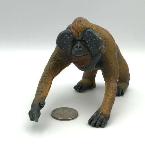 Play Vision 1998 Adult MALE ORANGUTAN Ape Animal Wildlife Figure Large!