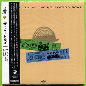 The-Beatles-AT-THE-HOLLYWOOD-BOWL-64-65-Gate-fold-mini-LP-Japan-CD-Sealed-w-OBI