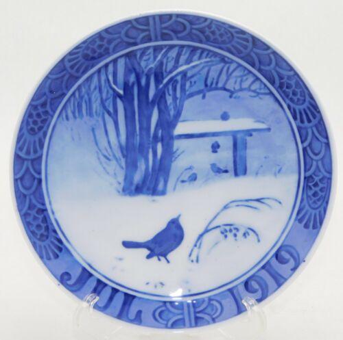 1919 Royal Copenhagen Birds in the Forest Christmas Plate