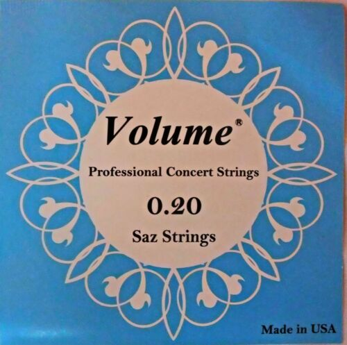 VOLUME STRING SET FOR  LONG NECK SAZ BAGLAMA   0.20 MM  !!!!!!!!!!!!!!!!!!!!!!!
