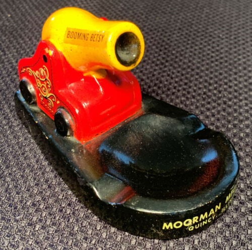 Moorman Mfg. Co. Quincy Illinois Booming Betty Advertising Ashtray
