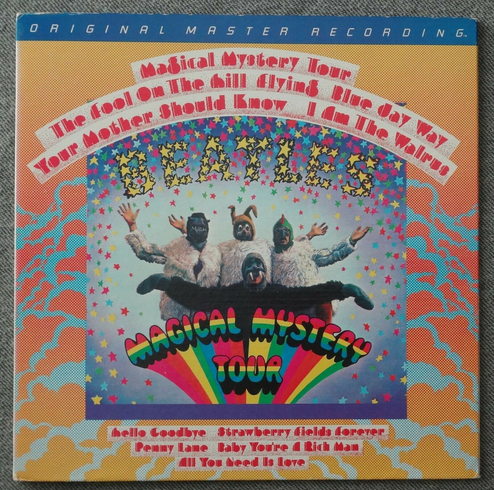 MFSL 1 -047 12 -33 Vinyl Beatles Magical Mystery Tour With Booklet Original 1980 - $49.00