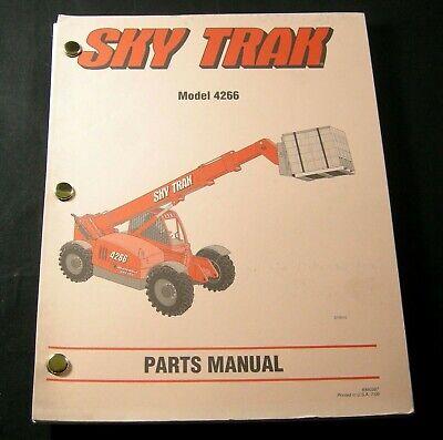 Skytrak 4266 Telescopic Boom Lift Telehandler Forklift Part Manual Book Sky Trak