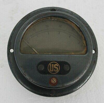 1943s Vintage Us P.b.j. Dc Kilovolts Meter