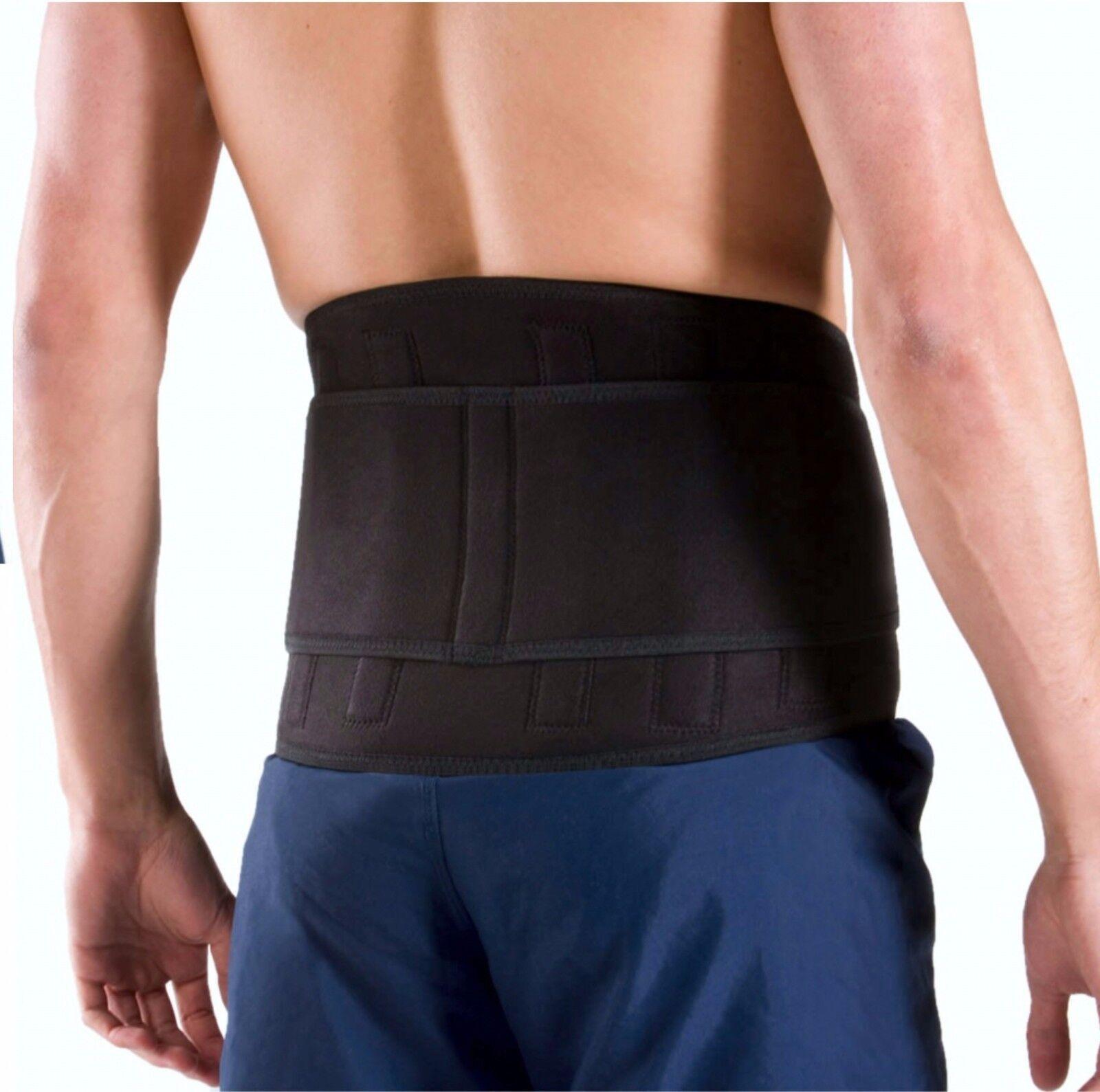 EVO lombare Cintura Supporto Schiena NEOPRENE YOGA sollevamento pesi ginnastica