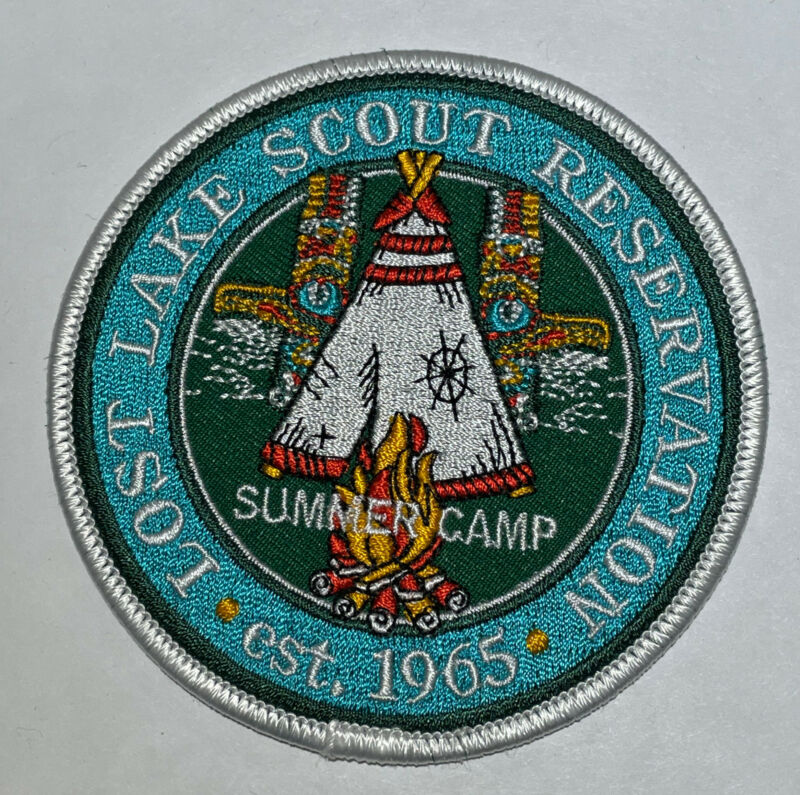 Lost Lake Scout Reservation Camp Patch Boy Scout  CC8