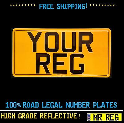 "REAR NUMBER PLATE SIZE 13"" X 6.5"" WITH BORDER FOR IMPORT & 4 x 4 VEHICLES"