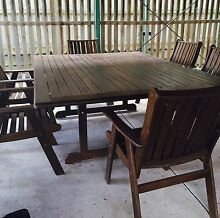 7 Piece Quality outdoor setting. Camp Hill Brisbane South East Preview