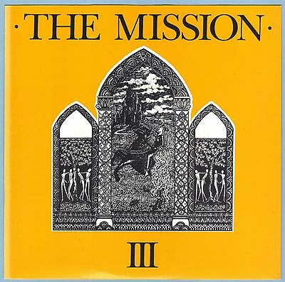 "The Mission - III (Stay With Me / Blood Brother) 7"" Single (1986) Mercury MYTH1"