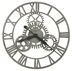 625-687 -THE SIBLEY,20 INCH WALL CLOCK BY HOWARD MILLER 625687