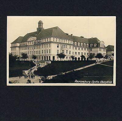 RAVENSBURG Spohn-Oberschule / Gymnasium * Foto-AK um 1930