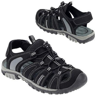Damen Herren Outdoor Sandalen Sneaker Sportschuhe Trekking Schuhe Schwarz 17000