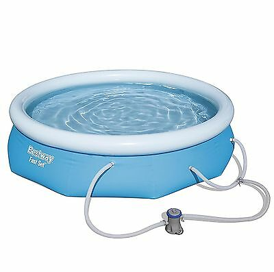 "Cheap and Nobility 10' x 30"" Above Ground Swimming Pool Set w/ Filter Pump NEW"